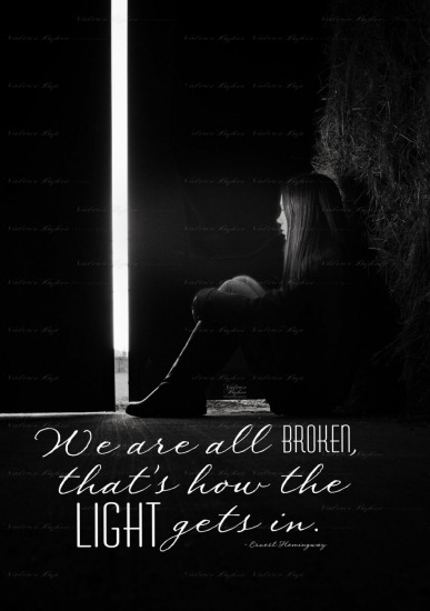 We are all broken...