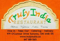Truly India - Authentic Vegetarian Indian Cuisine