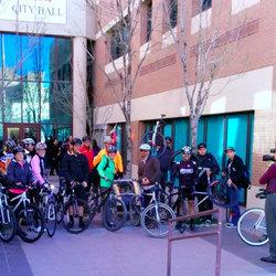 El paso city hall bicyclists