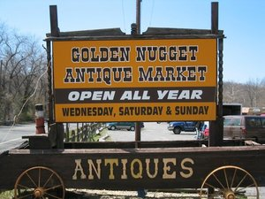 Golden nugget antique