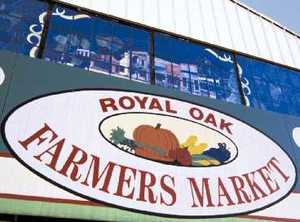 Royal oak farmers market