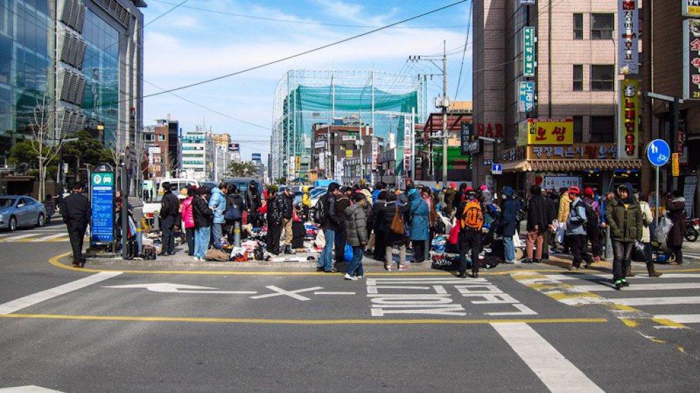 Seocho flea market 3 seoul korea