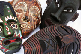 Village walk african crafts