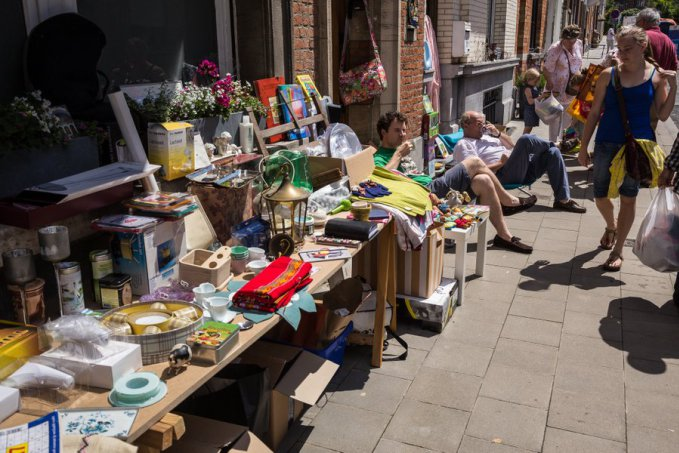 Auderghem flea markets copyright philippecphoto