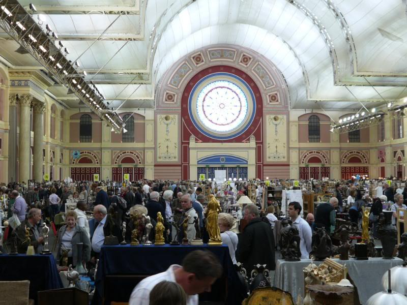 Flea market in alexandra palace london
