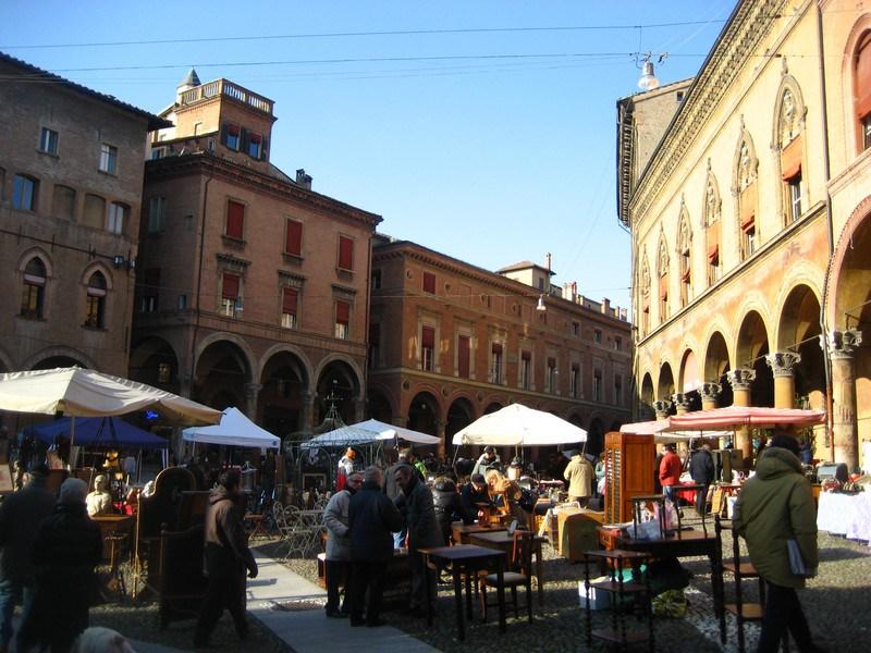 Flea market modena