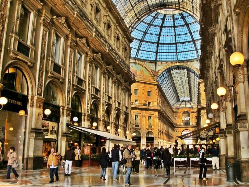 Milan flea market