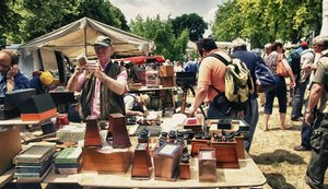 Best flea markets france photo