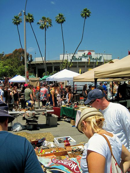 Rosebowl flea market all rights reserved by basicla