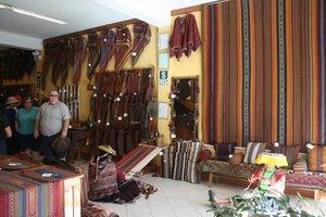 Centro de textiles tradicional