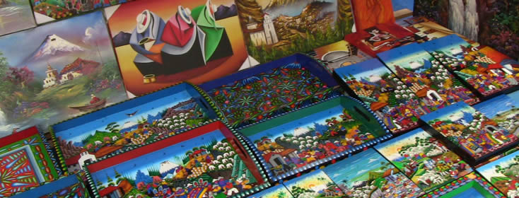 Mercado artesanal guayaquil ecuador