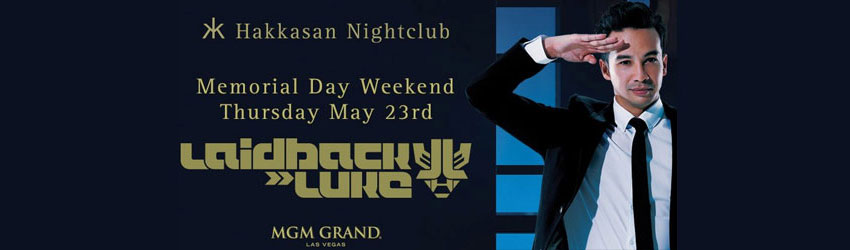 5/23/13 Laidback Luke at Hakkasan Las Vegas | DJhere Productions