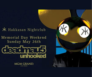 5/26/13 deadmau5 at Hakkasan Las Vegas | DJhere Productions