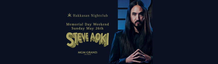 5/26/13 Steve Aoki at Hakkasan Las Vegas | DJhere Productions