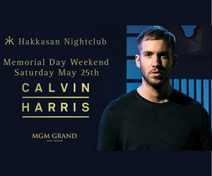 5/25/13 Calvin Harris at Hakkasan Las Vegas | DJhere Productions