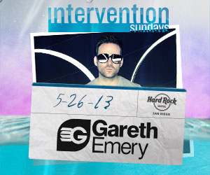 5/26/13 Intervention Sundays w/ Gareth Emery | DJhere Productions