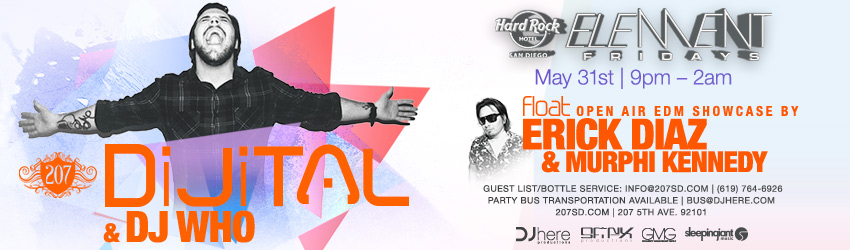 Element Fridays at the Hard Rock Hotel | May 31st, 2013 | DJhere Productions
