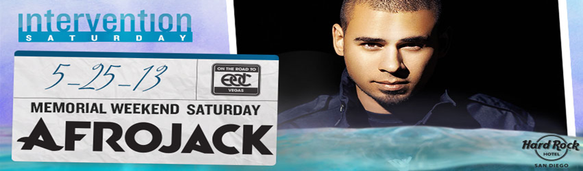 Afrojack at Intervention San Diego | May 25th, 2013 | DJhere Productions