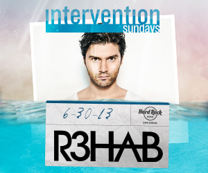 R3HAB at Intervention Sundays  | June 30th, 2013 | DJhere Productions