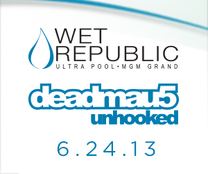 deadmau5 at Wet Republic | June 24th, 2013 | DJhere Productions