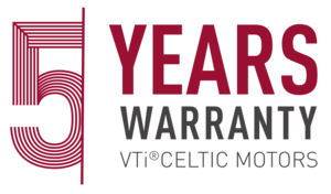 VTi® Celtic Motors 5years