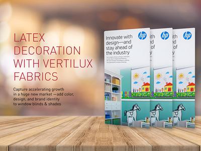 Latex Decoration with Vertilux Fabrics