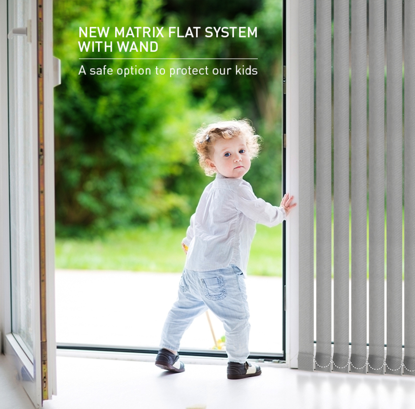 New Matrix Flat System with Wand Operation: Even More Child Safety Options