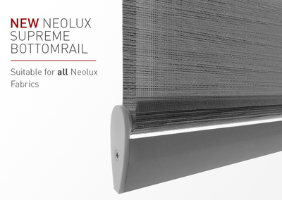New Neolux Supreme Bottomrail: More Versatile & Efficient