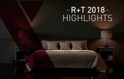 R+T'18 Highlights: New Textured Blackout Fabrics