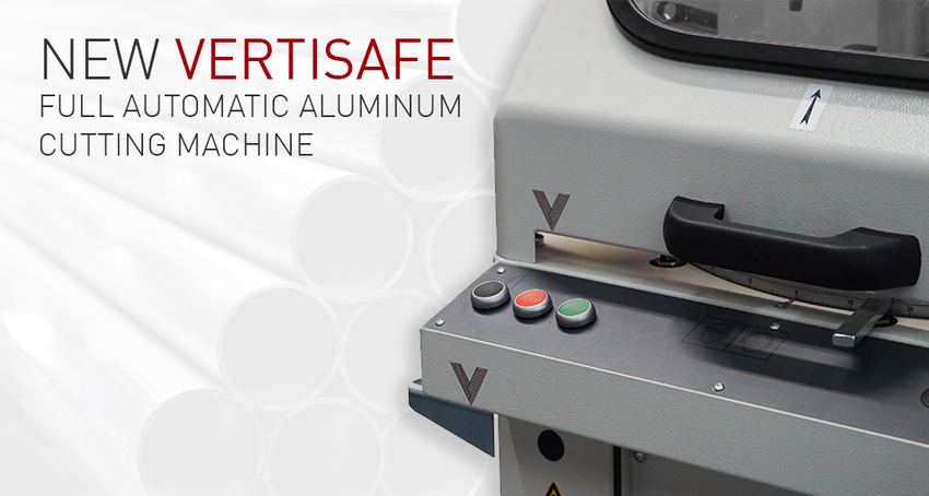 New Vertisafe Automatic Aluminum Cutting Machine