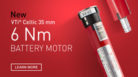 New 6 Nm VTi® Celtic Battery Motor