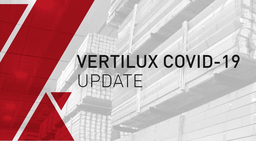 Vertilux Supply Chain COVID-19 Update