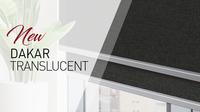Meet our new decorative fabric: Dakar Translucent