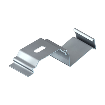0-031-CA-07000 | MX93/MATRIX Rail Ceiling Mount Snap in Bracket for Valance, Zinc