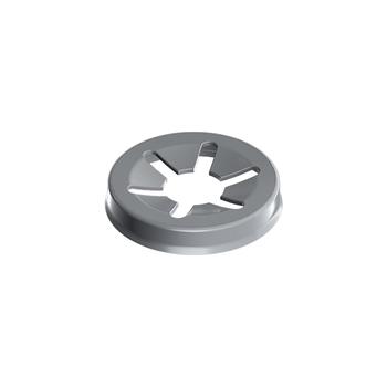 "0-031-P1-00500 | MX93/MATRIX 4 Prong Pinion Pushnut 13/64"" (5.28mm), Zinc"