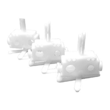 0-032-CA-02400 | 3 Prong Carrier Self Alignment (Scissor)
