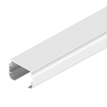 0-040-AL-002XX | MATRIX Aluminum Ellipse Track for Vertical Blinds