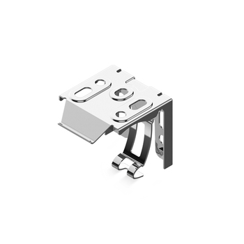 0-112-04-09000 | Mounting Snap Bracket for Cellular Shade Headrail - Zinc