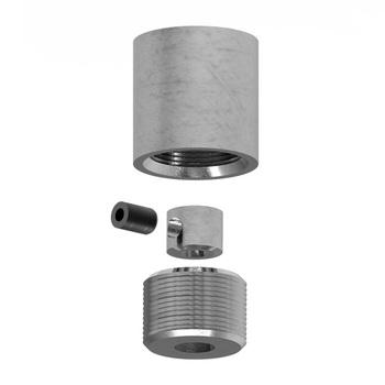 0-151-GP-00030 | Floor Countersunk Wire Tension Bracket