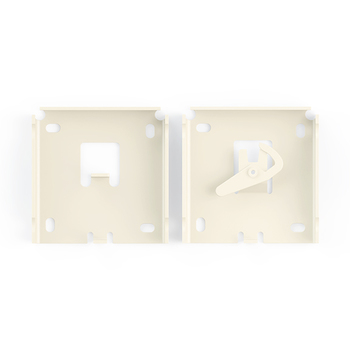 "0-154-BR-362FX | 3"" (76.2mm) Small Tab Mount Fascia Brackets"