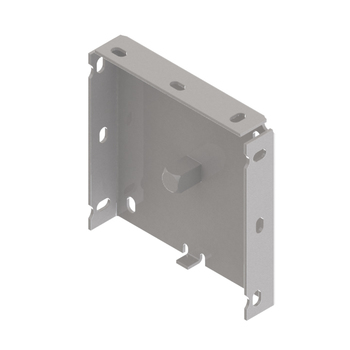 "0-154-BR-M4FXX | 4"" Fascia Bracket with Motor Block"
