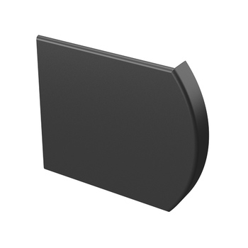 "0-154-CO-FPR3X | 3"" (76mm) Round Fascia Bracket Cover"