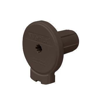 "0-154-DN-V17XX   VTX17 Designer Clutch Tab Mount - 1 ½"" (38mm) Core NOTCHED"