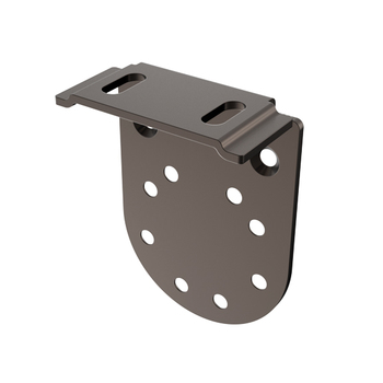"0-154-PB-E01XX | EURO Small Bracket for End Support  |  1½"" (38mm) Projection"