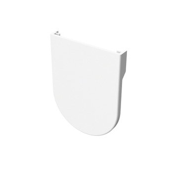 0-154-PC-E00XX | EURO Small Bracket Cover