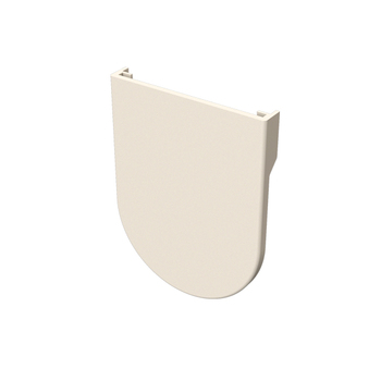 "0-154-PC-E00XX | Cover for EURO Small Bracket with 1½"" (38mm) Projection"