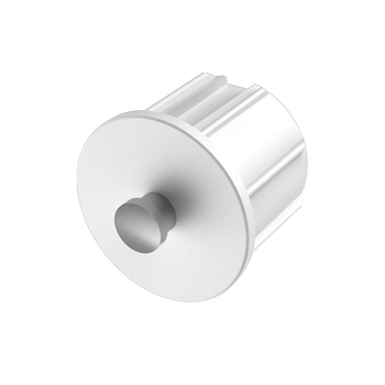 "0-154-PE-XXX01 | End Plug for Euro Brackets 1½"" (38mm)"