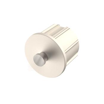"0-154-PE-XXX02 | End Plug for Euro Brackets 1¼"" (32mm)"