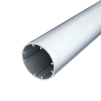 "0-154-TU-501XX   2"" (50 mm) Grooved Aluminum Tube"