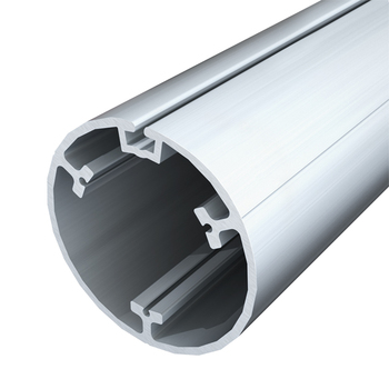 "0-154-TU-83021 | 3 ¼"" (83mm) Structured Alu.Tube w/Rec.& Flat Chan.19' MF"